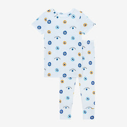 Evil Eye Short Sleeve Pajamas