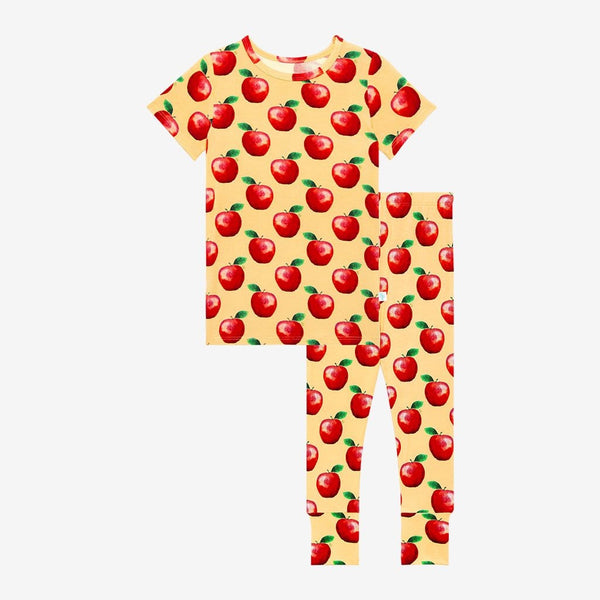 Red apple printed Finn Short Sleeve Pajamas