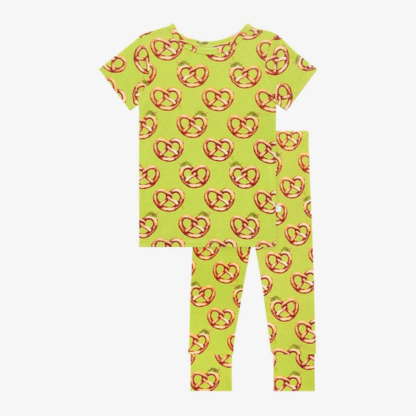 Pretzel Short Sleeve Pajamas
