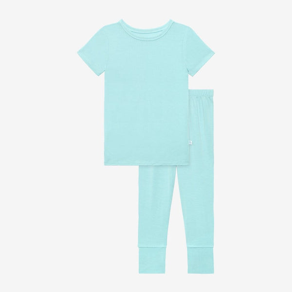 Robins Egg Short Sleeve Pajamas