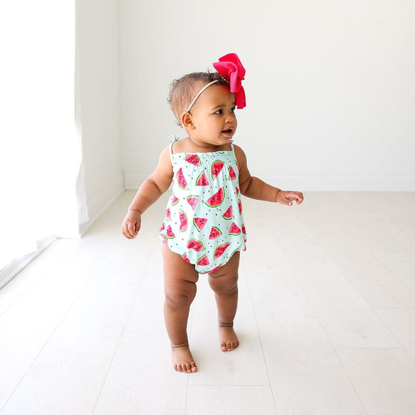 Mellony Sleeveless Bubble Romper