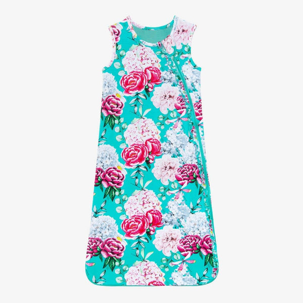 Floral Eloise Sleeveless Ruffled Sleep Bag 1.0 Tog