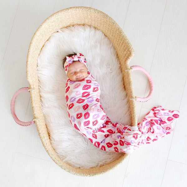 Lola Swaddle Headband Set