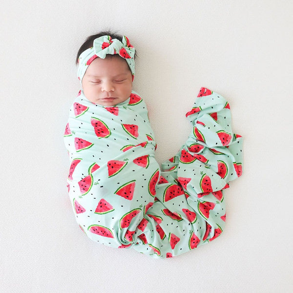 Mellony Swaddle Headband Set