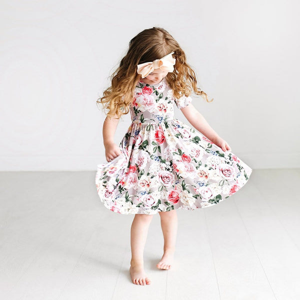 Cassie Short Sleeve Twirl Dress