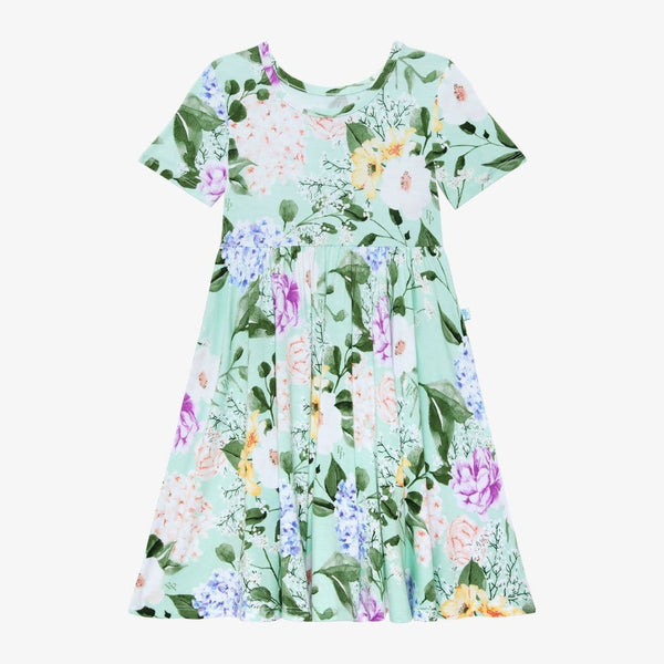 Erin Short Sleeve Twirl Dress