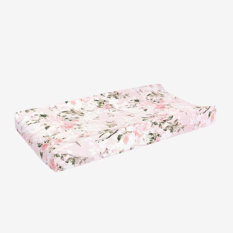 Vintage Pink Rose Pad Cover