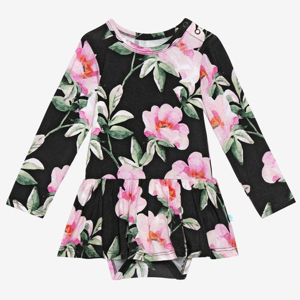Tenni Long Sleeve Twirl Skirt Bodysuit