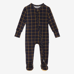 Tucker Footie Zippered One Piece