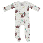 Sloth Footie Zippered One Piece