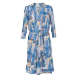 Blue Plaid Robe