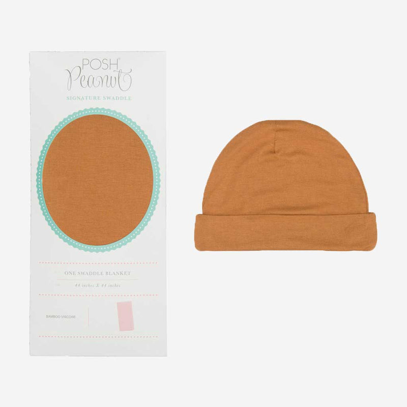 Marigold Swaddle Beanie Set - FINAL SALE