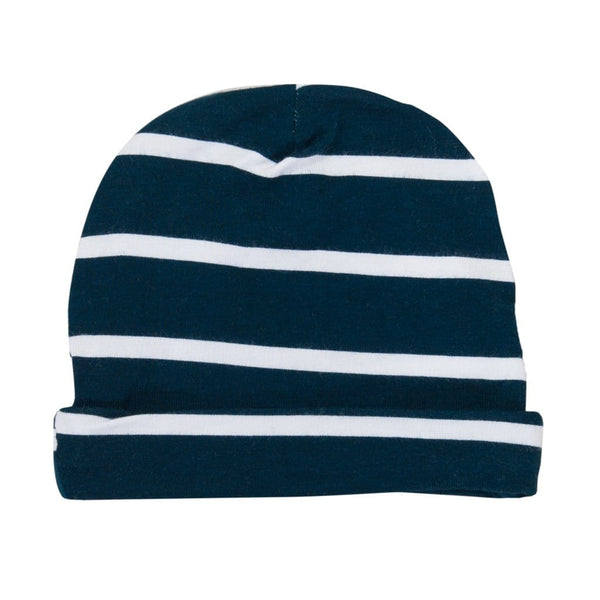 Sailor Blue & White Stripe Beanie - FINAL SALE