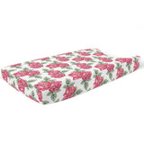 Dolce Red Rose Changing Pad Cover