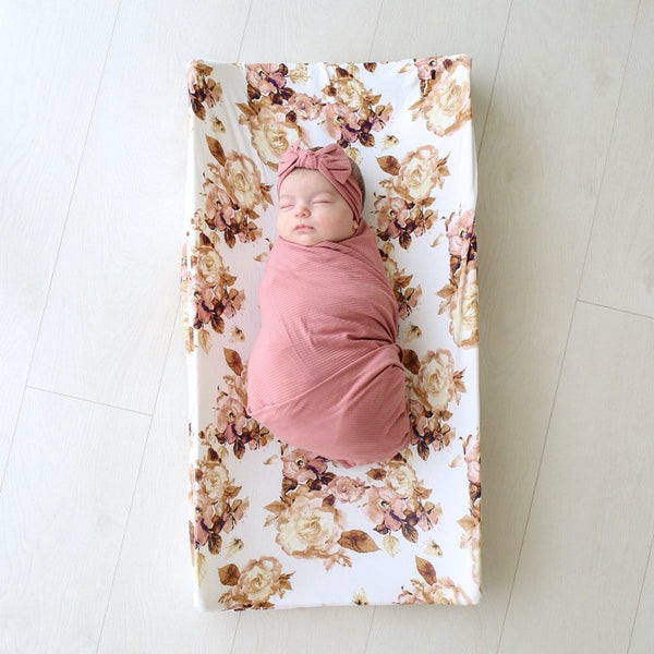 Reese Floral Pad Cover