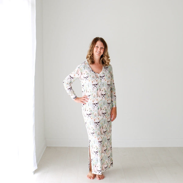 Rosie Sage Long Sleeve Maxi Dress