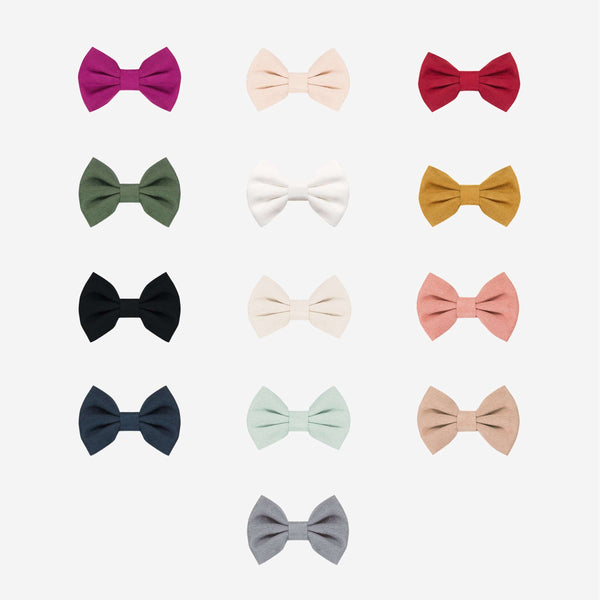 Suede Nylon Bows Headwrap - FINAL SALE
