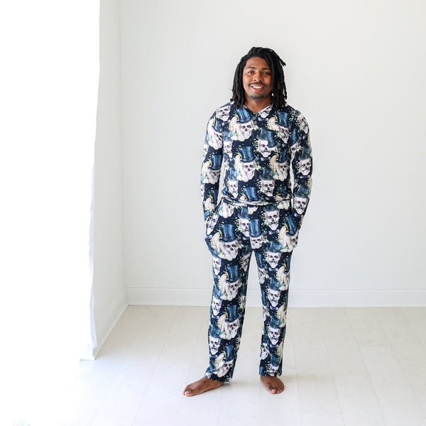 Theodore Black Men's Loungewear