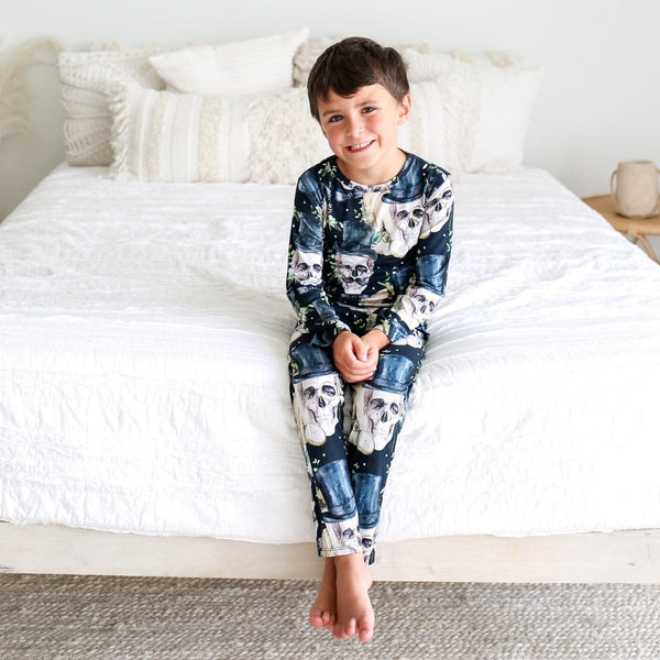 Theodore Black Pajamas - FINAL SALE
