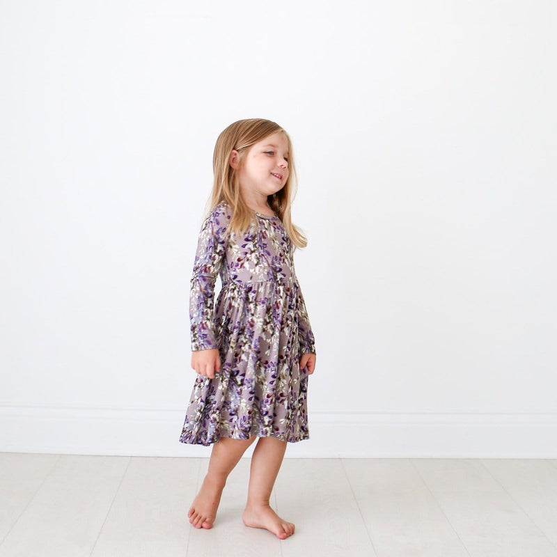 Trinity Floral Long Sleeve Twirl Dress - FINAL SALE