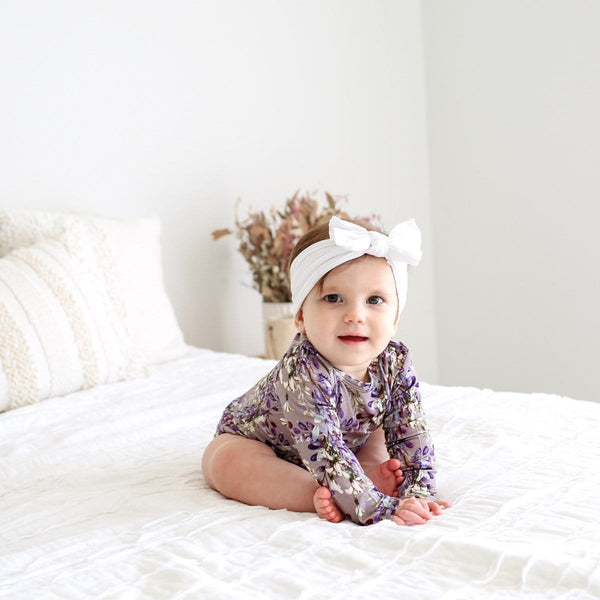 Trinity Floral Long Sleeve Bodysuit