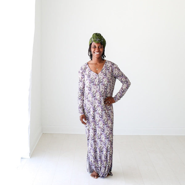 Trinity Floral Long Sleeve Maxi Dress