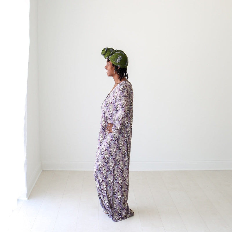 Trinity Floral Long Sleeve Maxi Dress - FINAL SALE