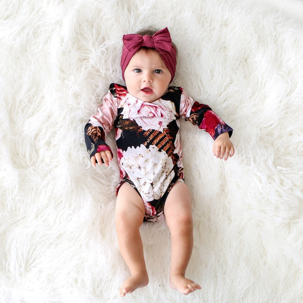 Zoey Floral Long Sleeve Bodysuit