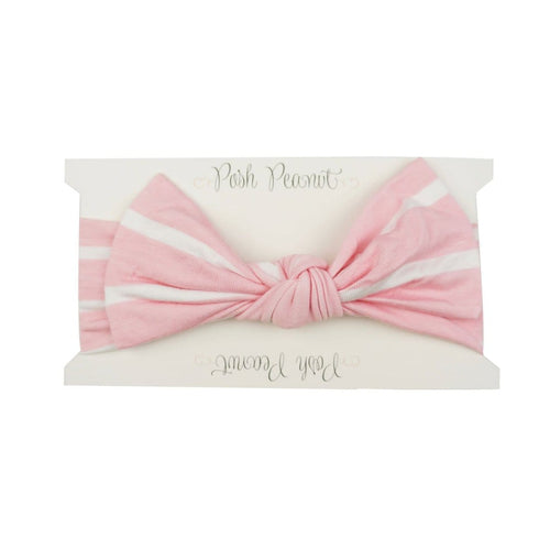 Pink & White Stripe Headwrap