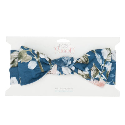 Posh-Peanut-Viscose-Bamboo-Stay-dry-fabric-reliably-chic-and-perfectly-practical-uniquely-designed-of-a-kind blue rose headwrap headband