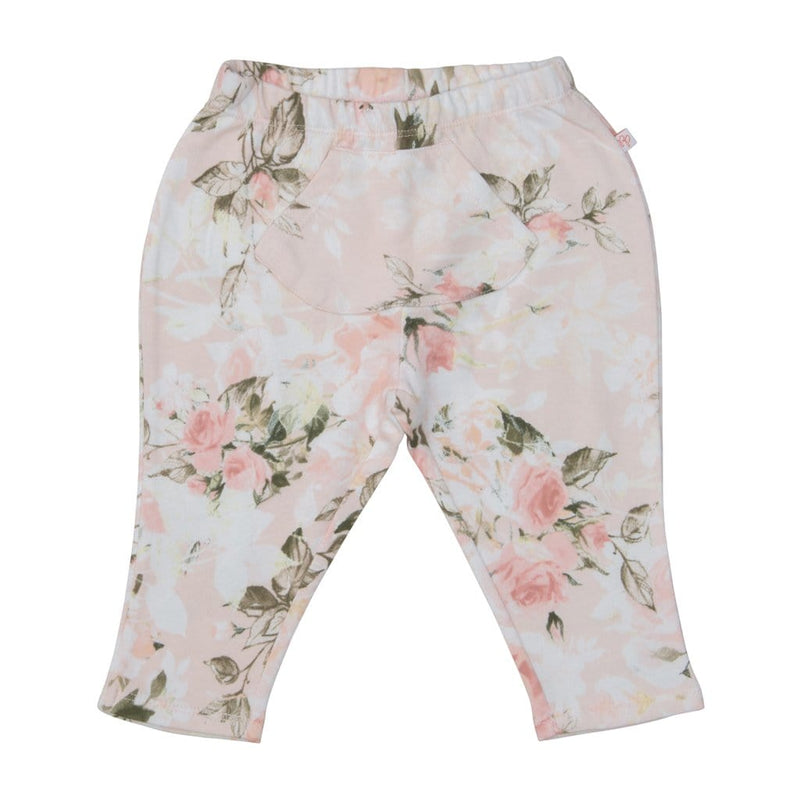 Posh-Peanut-Viscose-Bamboo-Stay-dry-fabric-reliably-chic-and-perfectly-practical-uniquely-designed-of-a-kind vintage pink rose joggers bottoms pants