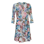 Posh-Peanut-Viscose-Bamboo-Stay-dry-fabric-reliably-chic-and-perfectly-practical-uniquely-designed-of-a-kind-mommy robe in hydrangea