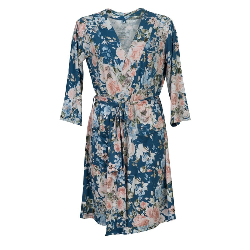 Posh-Peanut-Viscose-Bamboo-Stay-dry-fabric-reliably-chic-and-perfectly-practical-uniquely-designed-of-a-kind-mommy-robe-in-blue rose