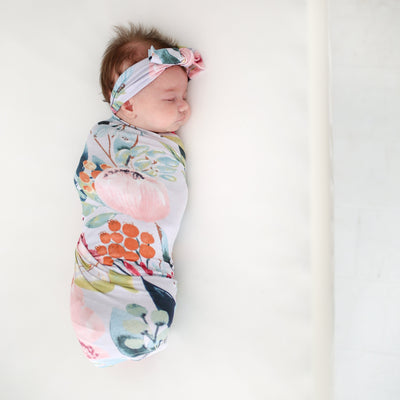 Forrest Queen Swaddle Headband Set