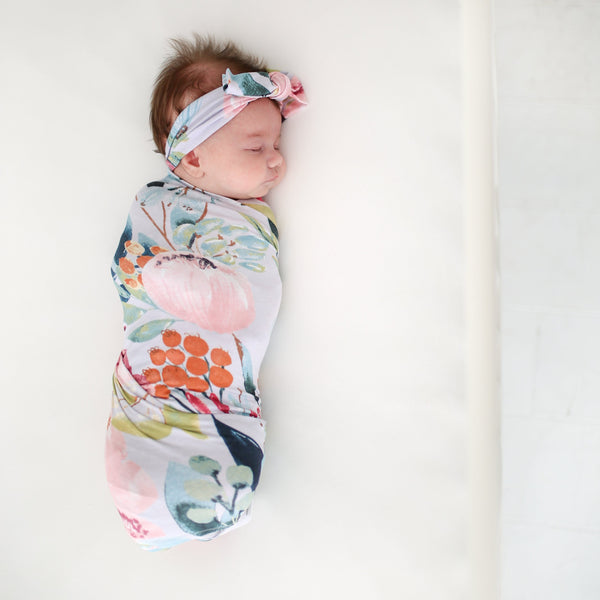 Forrest Queen Swaddle Headband Set - FINAL SALE