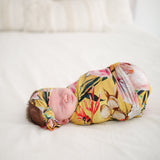Tuscan Yellow Swaddle Headband Set