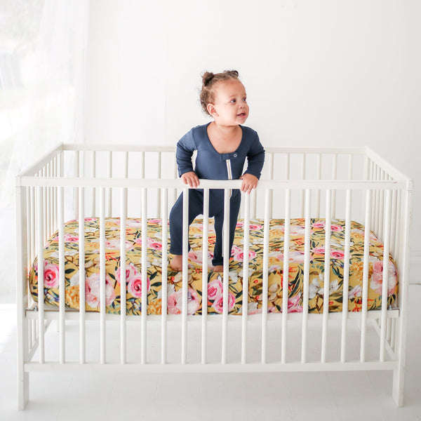 Tuscan Yellow Crib Sheet - FINAL SALE