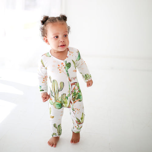 Cactus Wheel One Piece Romper