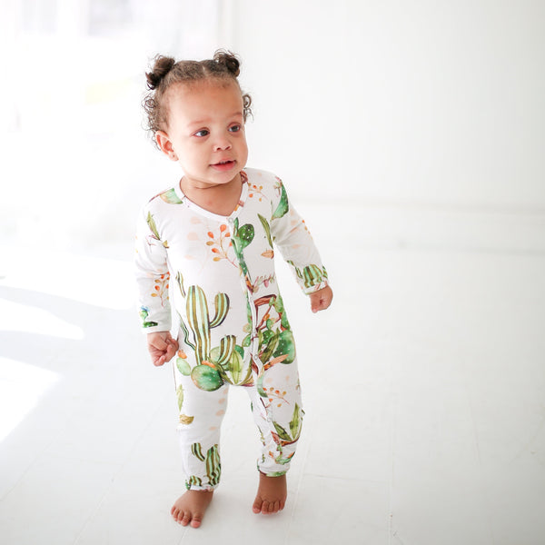 Cactus Wheel One Piece Romper - FINAL SALE