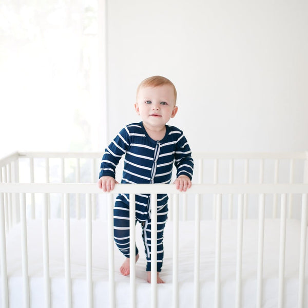 Sailor Blue & White Stripe One Piece - FINAL SALE