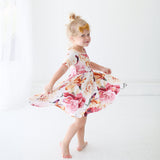 Autumn Floral Twirl Dress