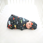 boy swaddle space design