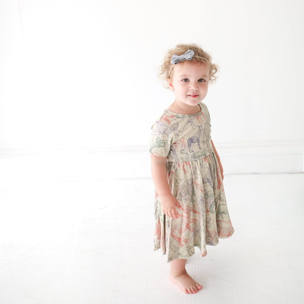 Safari Twirl Dress - FINAL SALE