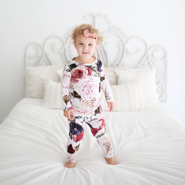 Black Rose Pajamas
