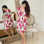 Dolce Red Rose Robe