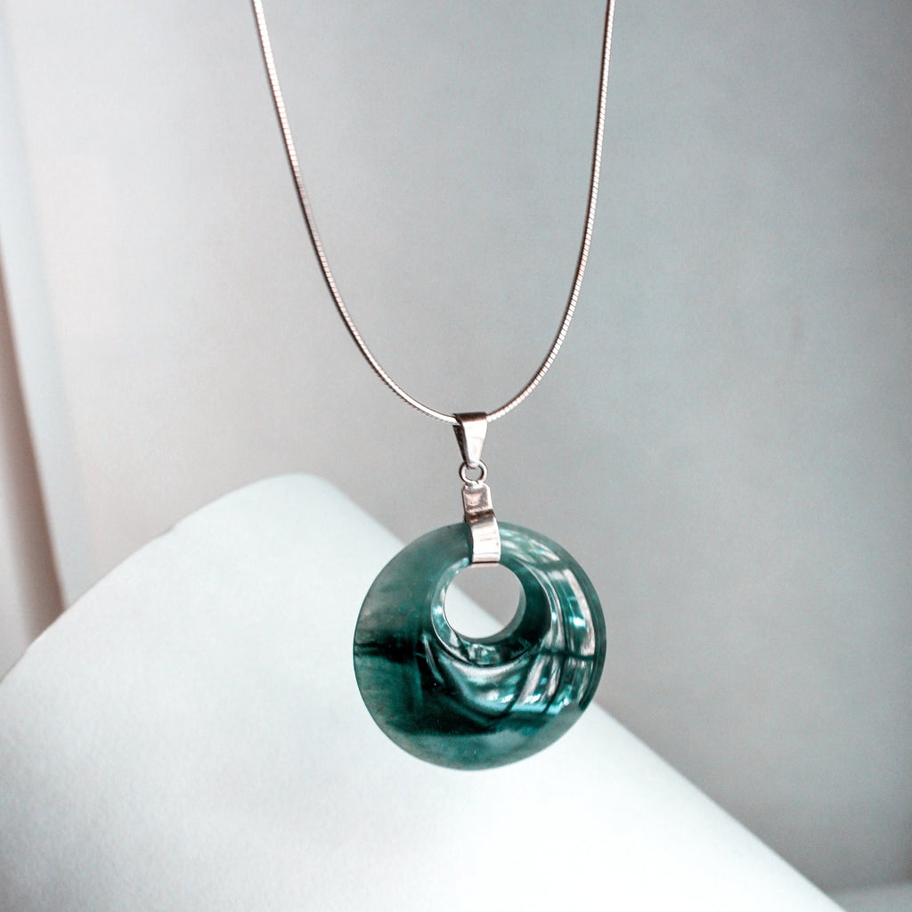 Blue Jade Deco Pendant - Navarro Official