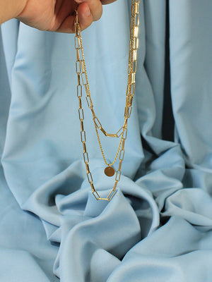 Three Layer Gold Chains - Navarro Official