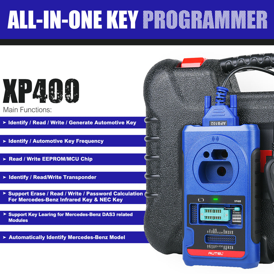 autel xp400 functions