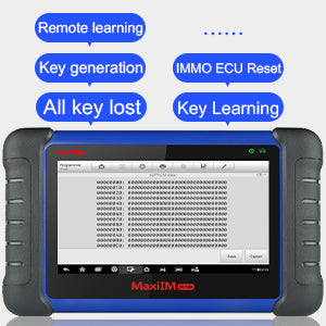 Autel IM508 can perform key programming functions