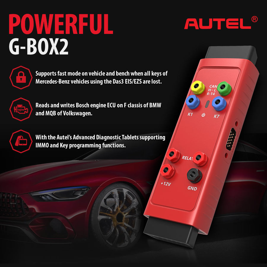 Autel G-box2 have powerful function
